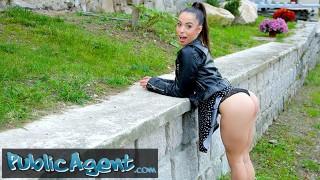 Screen Capture of Video Titled: Public Agent Beautiful Latina Anastacia Brokelyn Fucks a Fat Cock