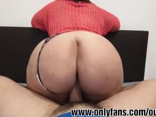 Mujer con gran culo enculada por gran polla (parte 2)