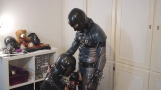 Miss Maskerade Rubber dominated Gagged and fucked - SAFP001