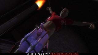 Citor3 FemDomination2 Virtual Reality Sex Game Girlfriend Scene