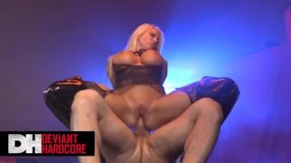 Deviant hardcore - Big tit Blonde sub Ink likes it rough