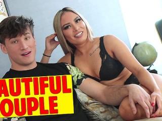 Most Popular Couple On PornHub - Latina That Loves Big White Dick
