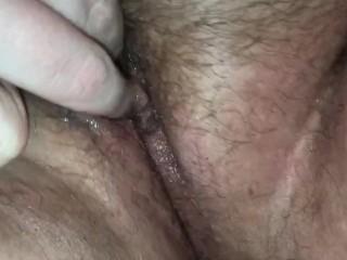 bbw lesbian hairy pussy toy play