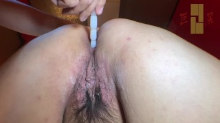 150cm bigass japanese old woman Fucking and anal job