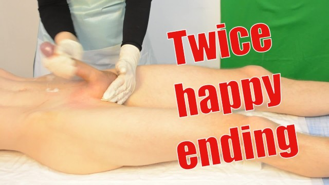 Male Sugaring Brazilian Waxing with a Jerk Off. twice Happy ...
