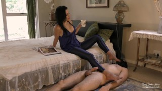 Morning Glory Preview - Femdom Foot Worship - Young Goddess Kim