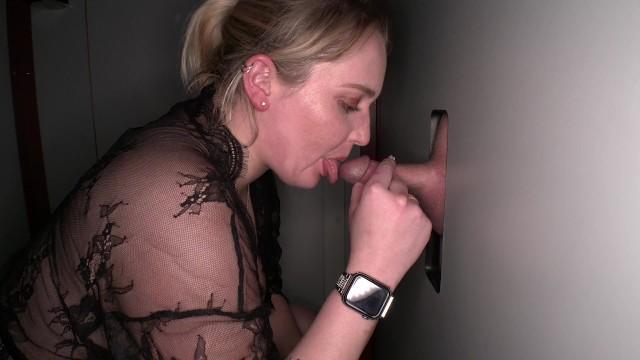 Blonde big tits gloryhole Gloryholeswallow Bit Tit Blonde Slut Pornhub Com