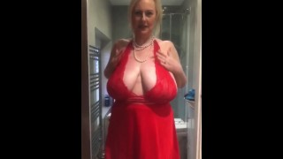Hot Milf Striptease