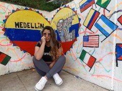 Colombia tour edition 2 - naughty graffitour with isabellamout lush control | Recorded Cam Show