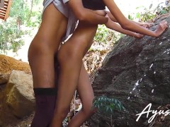 sri lankan school girl fucked by stranger public outdoor fuck එහා ගෙදර නංගි පාඩම් අහගන්න ඇවිත්