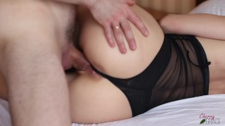 Came Twice! Creampie and Cum onto Pussy