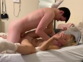 PAWG college babe wants to fuck before her exam