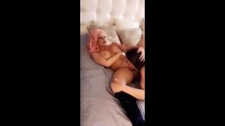 Abigail Mac Fucks Nikki Delano on Snapchat