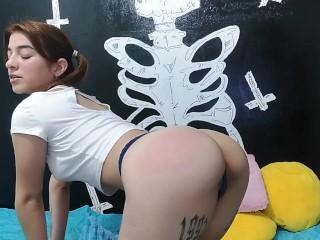 megan's ass being for misbehaving