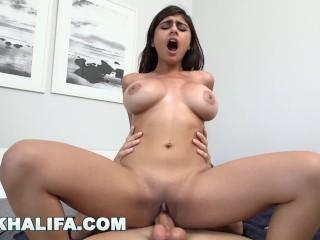 MIA KHALIFA – Big Tits Facing Forward, Riding Dick On Loop