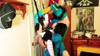 PiperThebun x Sucario Breeding on a Door Sex Swing