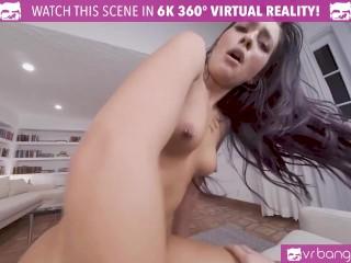 VR BANGERS Sexy Teen Skater Girl Shows Her Secret Skills On Hoverboard
