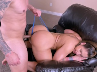 Fit big ass milf asked her brother in law to fuck her because she was bored