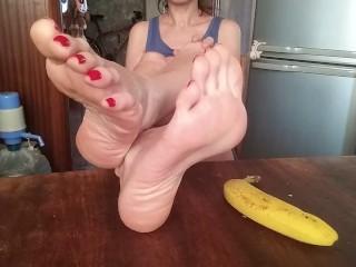 Amazing feet, perfect soles - OlgaNovem
