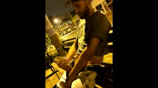 Jerking Off In Public In The Street Got Caught Multiple Times Nice Cumshot