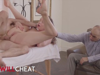 She Will Cheat – Elena Koshka Cuck BF As He Watches