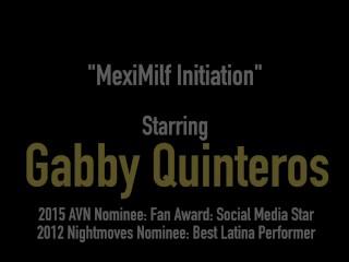Mexican Milf Gabby Quinteros Tongue Fucked By Francesca Le!