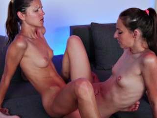 Gina Gerson and Amirah Adara Kissing Scissoring and Fingering contest