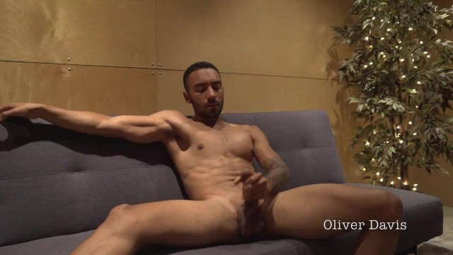 Solo Couch Jerk Off