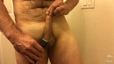 March 2020 Cock & Ball Manscaping Fun