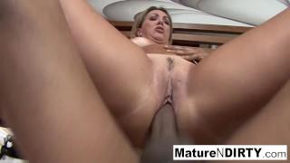 Tan Brazilian MILF wants his big cock deep in her ass!