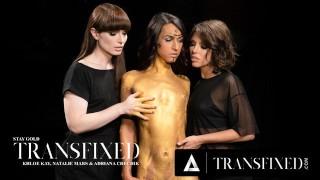 ADULT TIME Transfixed : Adriana, Natalie, and Khloe Threesome