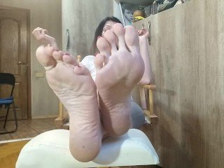 Stay at home and jerk off on feetvirus. JOI Russ. accent - OlgaNovem