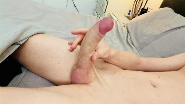 Big Uncut Cock Wank