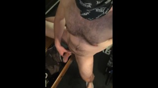 Pissing on my face and making a mess