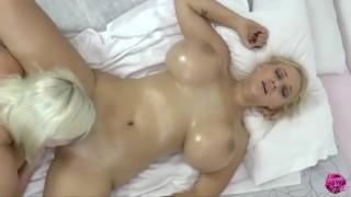 LACEYSTARR - Massive Jug Massage