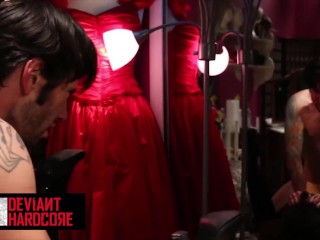 Deviant Hardcore - Good Little Doll Skin Diamond Gets Dominated