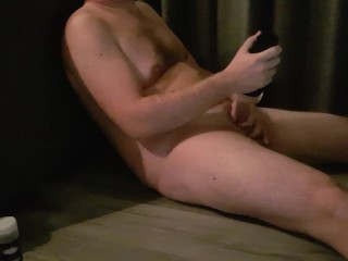 Big dick guy moans and comments jerking off with fleshlight cum on face free bisexual hd porn