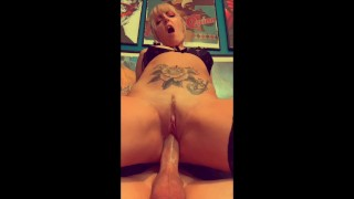 Watching My Slut Wife Fuck her Boss on Facetime for a Promotion