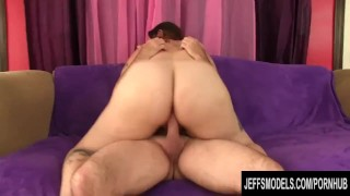 Horny Fat Cougar Kailie Raynes Gets Her Tits Sprayed After a Good Drilling