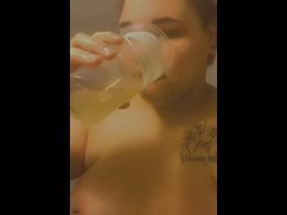 bbw piss