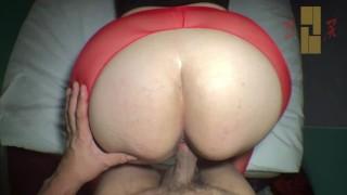 150cm bigass japanese old woman denim creampie fuck