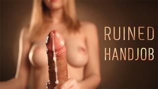 POV Ruined Cumshot - Sensual Edging with Intense Handjob