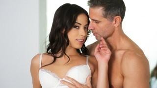 Screen Capture of Video Titled: 21Naturals Cute Brunette Has Sex During Breakfast