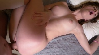 She loves to fuck in the morning and have breakfast dick