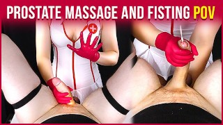 Prostate Massage with Handjob and Fisting from Your Nurse   Era
