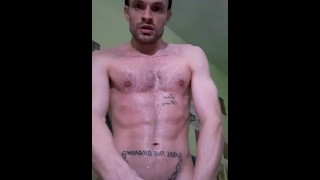 Sweating. Cumshot in your face at 14:36