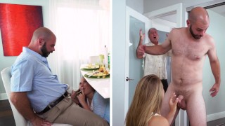 DON'T FUCK MY DAUGHTER - Teen Alyssa Cole Gets Her Way With Daddy's Friend
