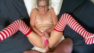 Granny Stockings Anal