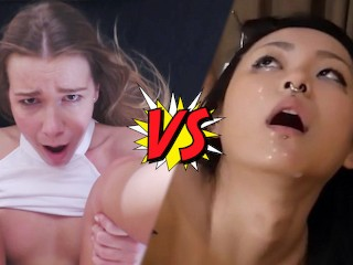 RaelilBlack VS Alexis Crystal - Who Is The Better Slut ?