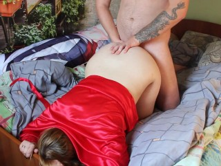 Curvy lady got fucked right and ended up in pussy! #STAYHOME
